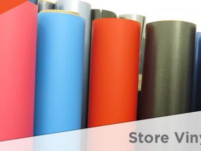 how to store vinyl films