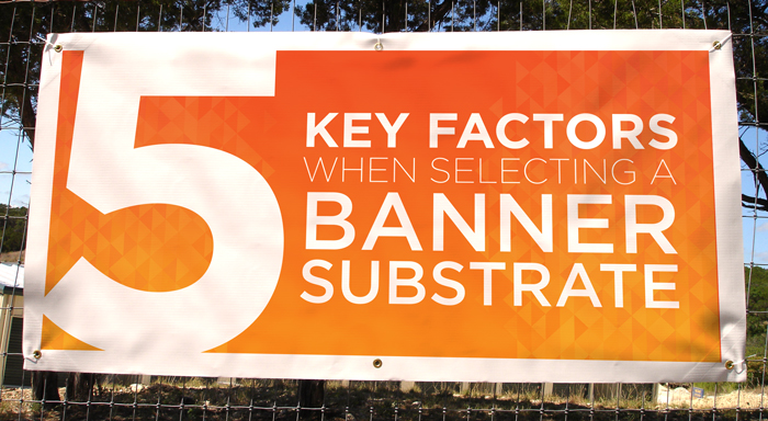 5 Key Factors When Selecting Banner Substrate